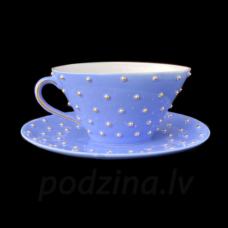 Tējas tase debesu zila 250ml