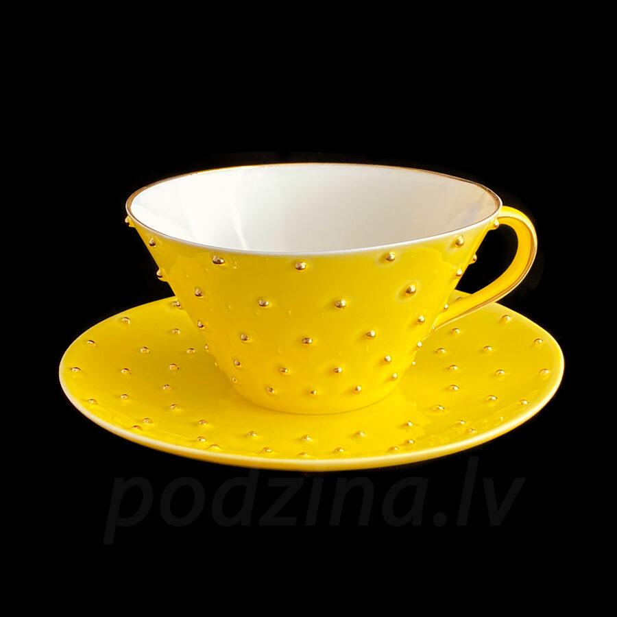 Tējas tase dzeltena, 250ml