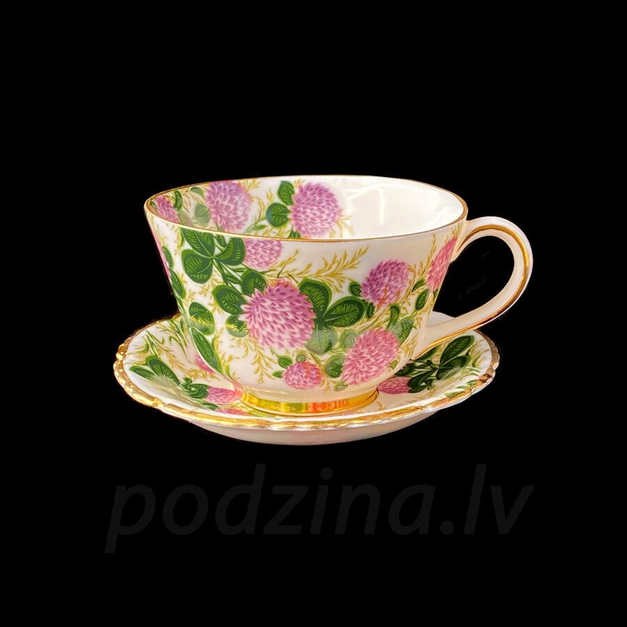 Vintāžā tējas tasīte